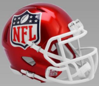 NFL Shield Speed Replica Football Helmet <B>FLASH ESD 8/21/21</B>