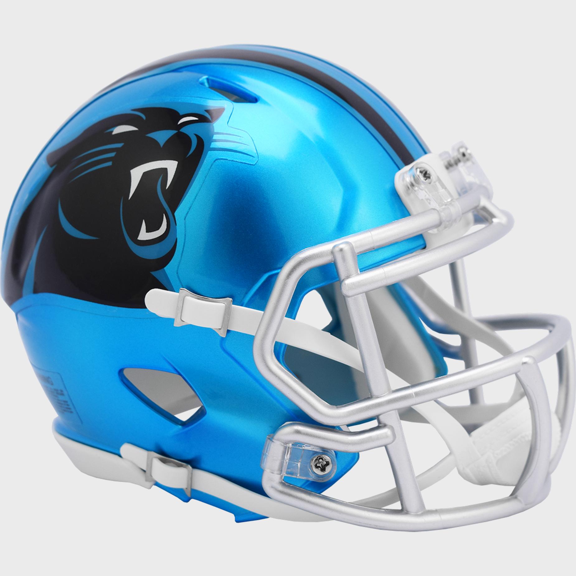 Carolina Panthers Speed Mini Football Helmet <B>FLASH ESD 8/21/21</B>