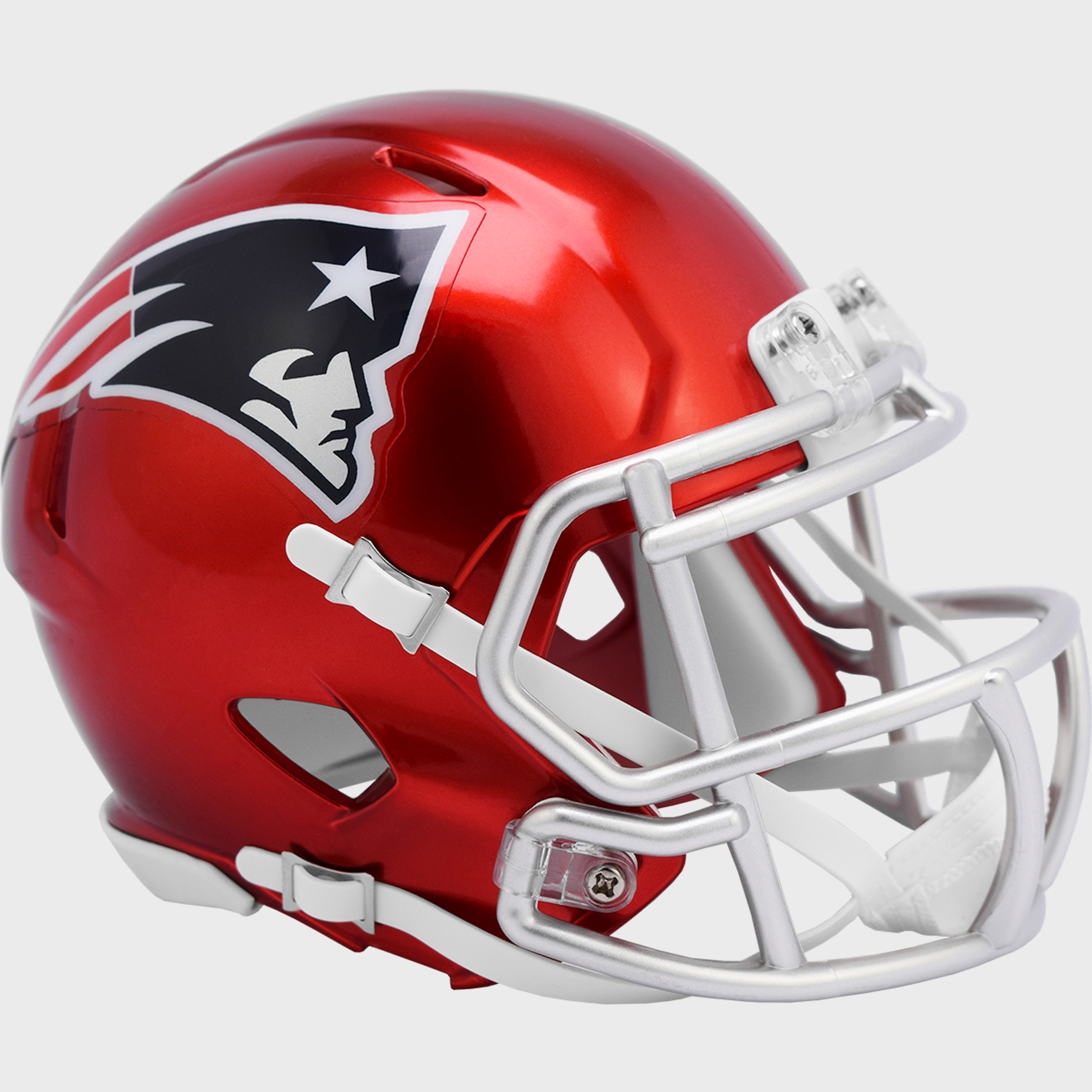 New England Patriots Speed Mini Football Helmet <B>FLASH ESD 8/21/21</B>