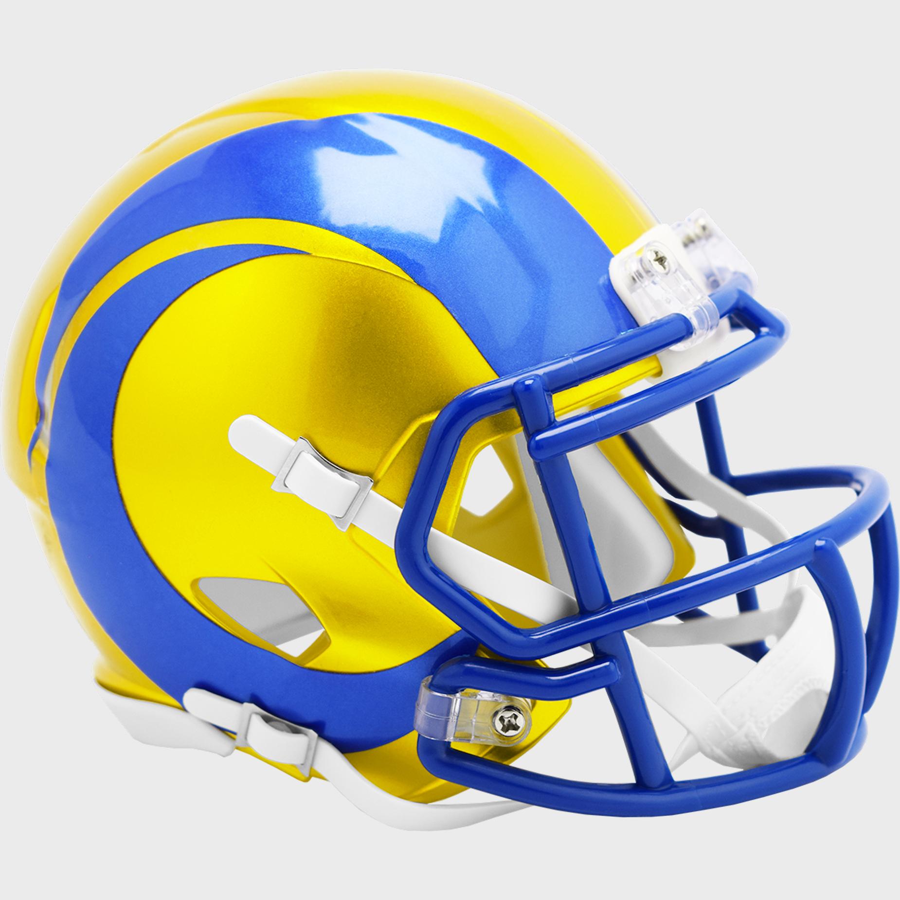 Los Angeles Rams Speed Mini Football Helmet <B>FLASH ESD 8/21/21</B>