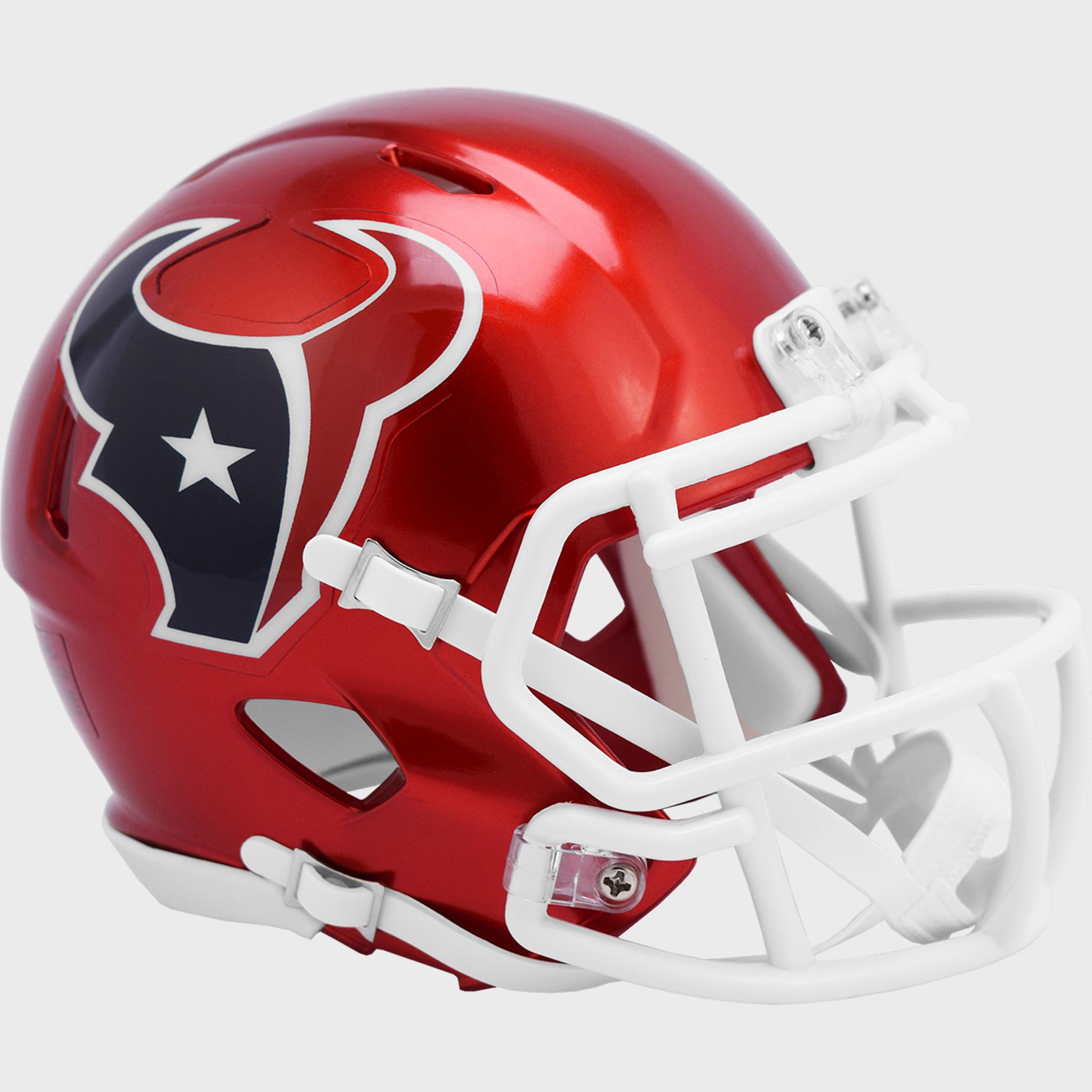 Houston Texans Speed Mini Football Helmet <B>FLASH ESD 8/21/21</B>