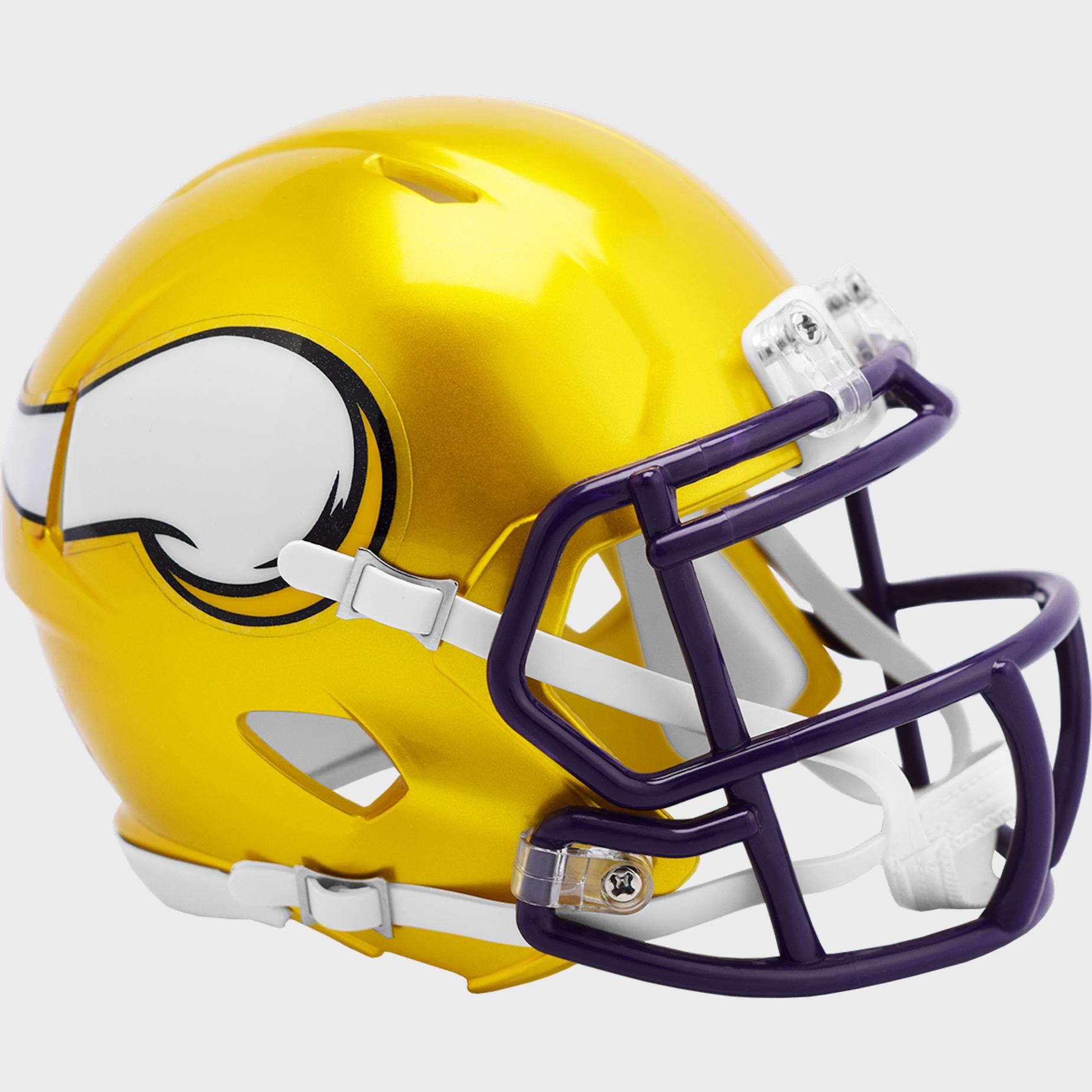 Minnesota Vikings Speed Mini Football Helmet <B>FLASH ESD 8/21/21</B>