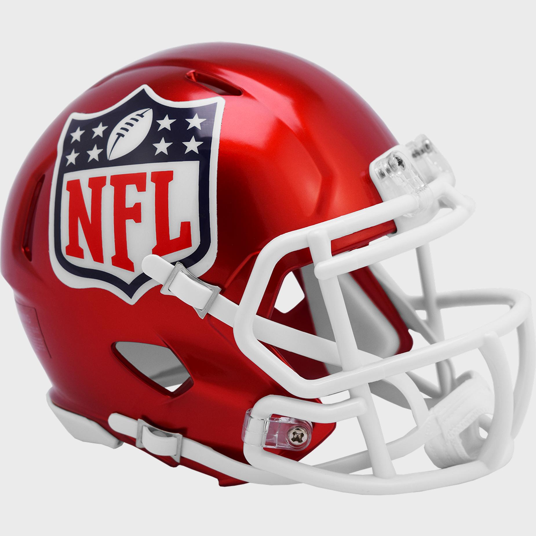 NFL Shield Speed Mini Football Helmet <B>FLASH ESD 8/21/21</B>