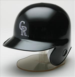 Colorado Rockies MLB Mini Batters Helmet