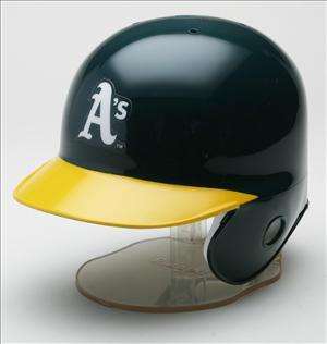 Oakland Athletics MLB Mini Batters Helmet