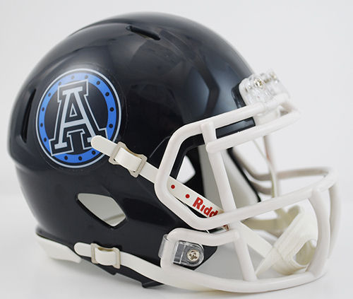 Toronto Argonauts Riddell CFL Mini Speed Football Helmet