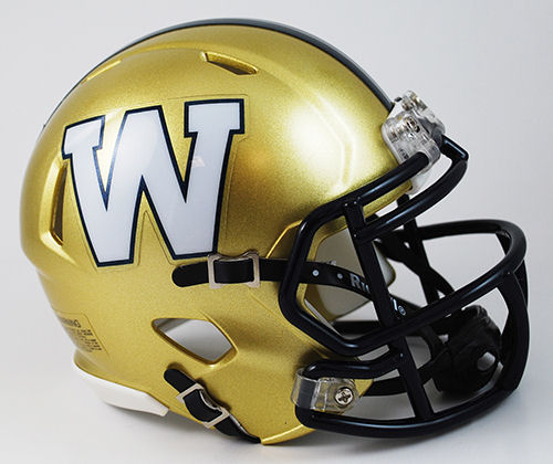 Winnipeg Blue Bombers Riddell CFL Mini Speed Football Helmet