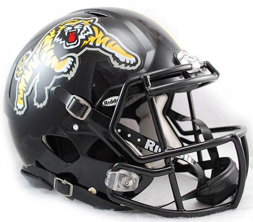 Hamilton Tiger Cats CFL Speed Football Helmet