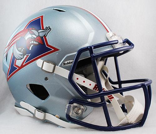 Montreal Alouettes CFL Speed Football Helmet