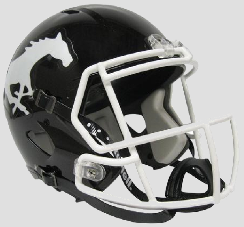 Calgary Stampeders CFL Speed Replica Football Helmet <B>Black</B>