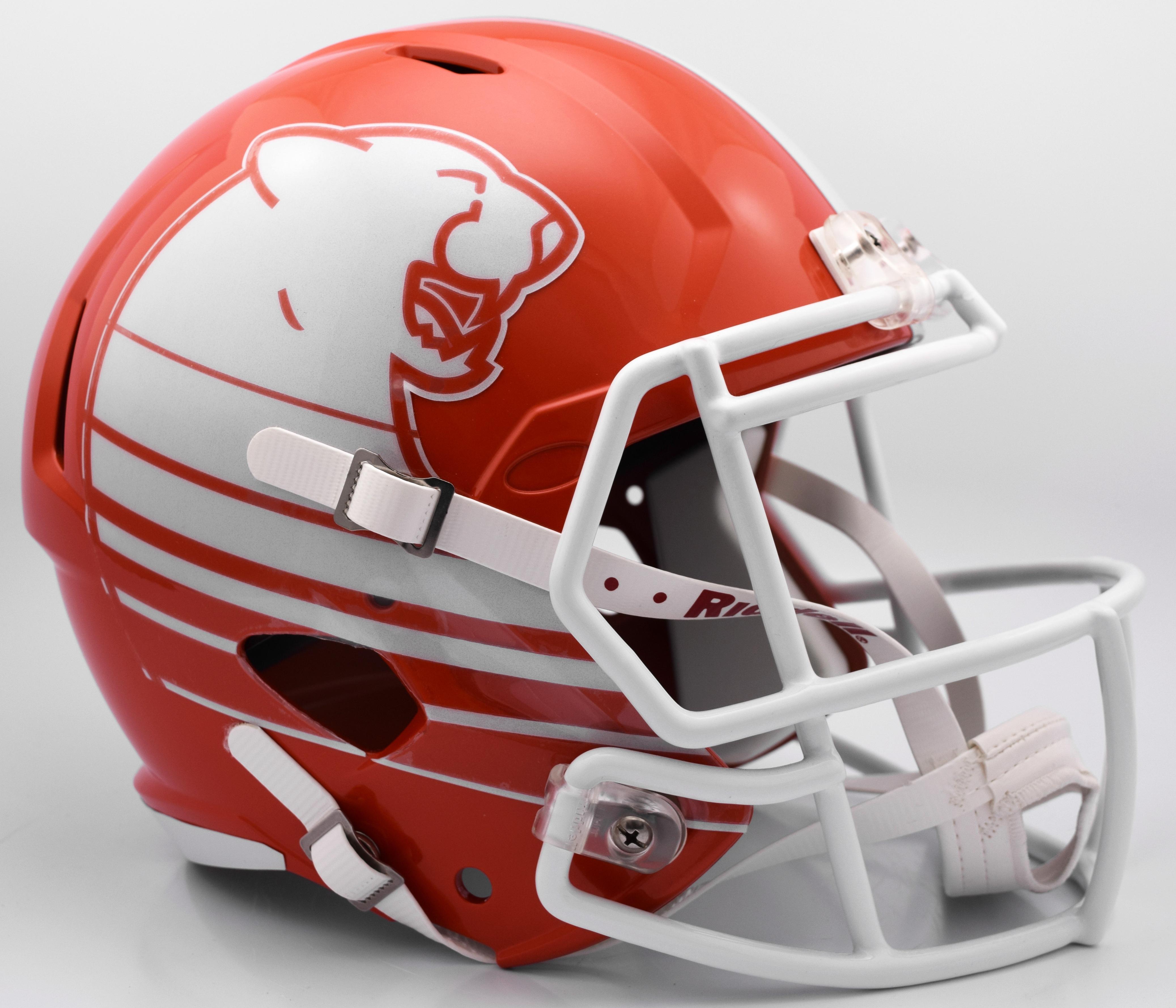 B C Lions Riddell CFL Mini Speed Football Helmet