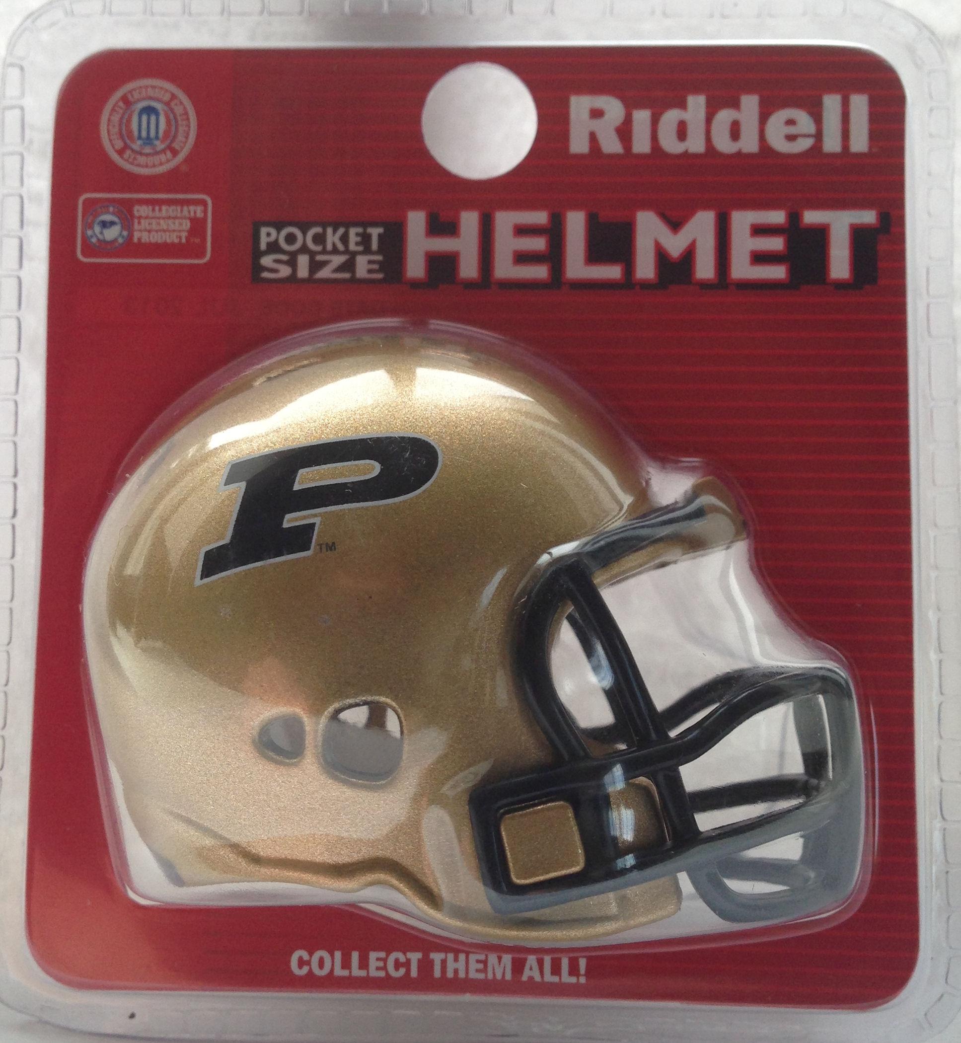 Purdue Boilermakers Pocket Pro Riddell