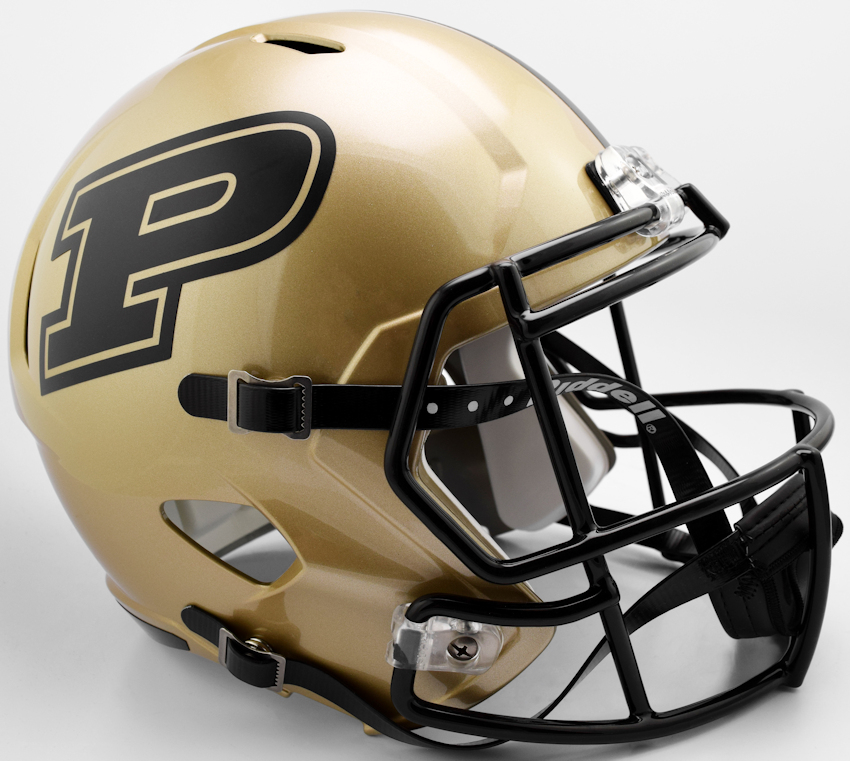 Purdue Boilermakers Speed Replica Football Helmet <B>2017</B>
