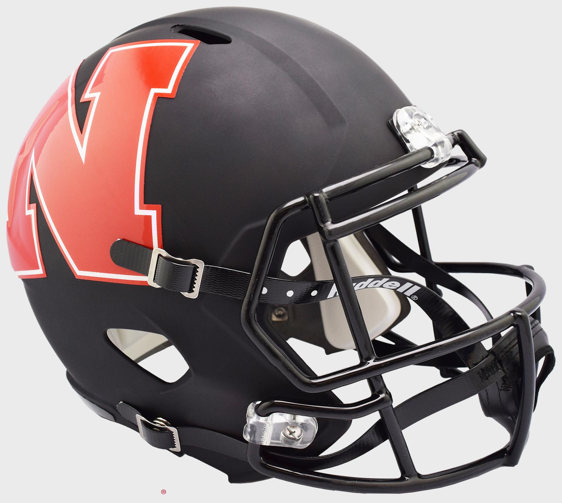 Nebraska Cornhuskers Speed Replica Football Helmet <B>AMP</B>