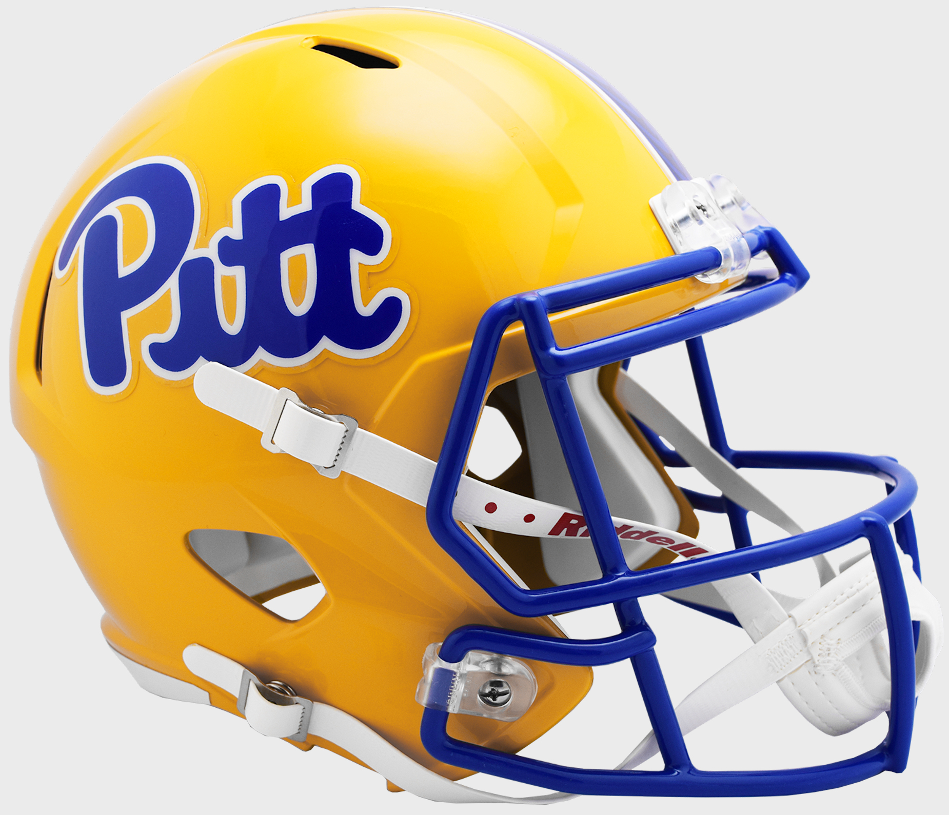 Pittsburgh Panthers Speed Replica Football Helmet <B>2019 Gold</B>