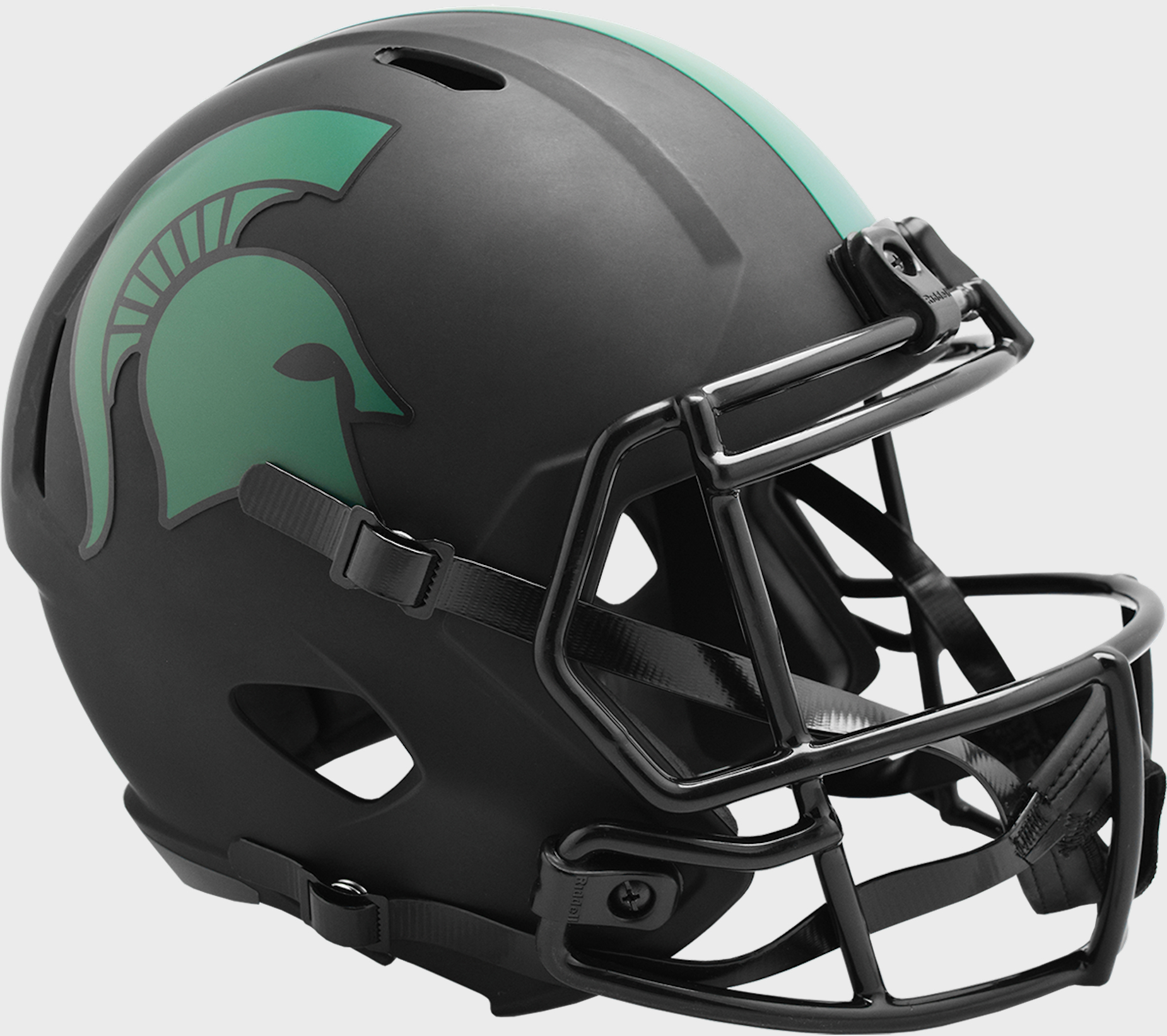 Michigan State Spartans Speed Replica Football Helmet <B>ECLIPSE </B>