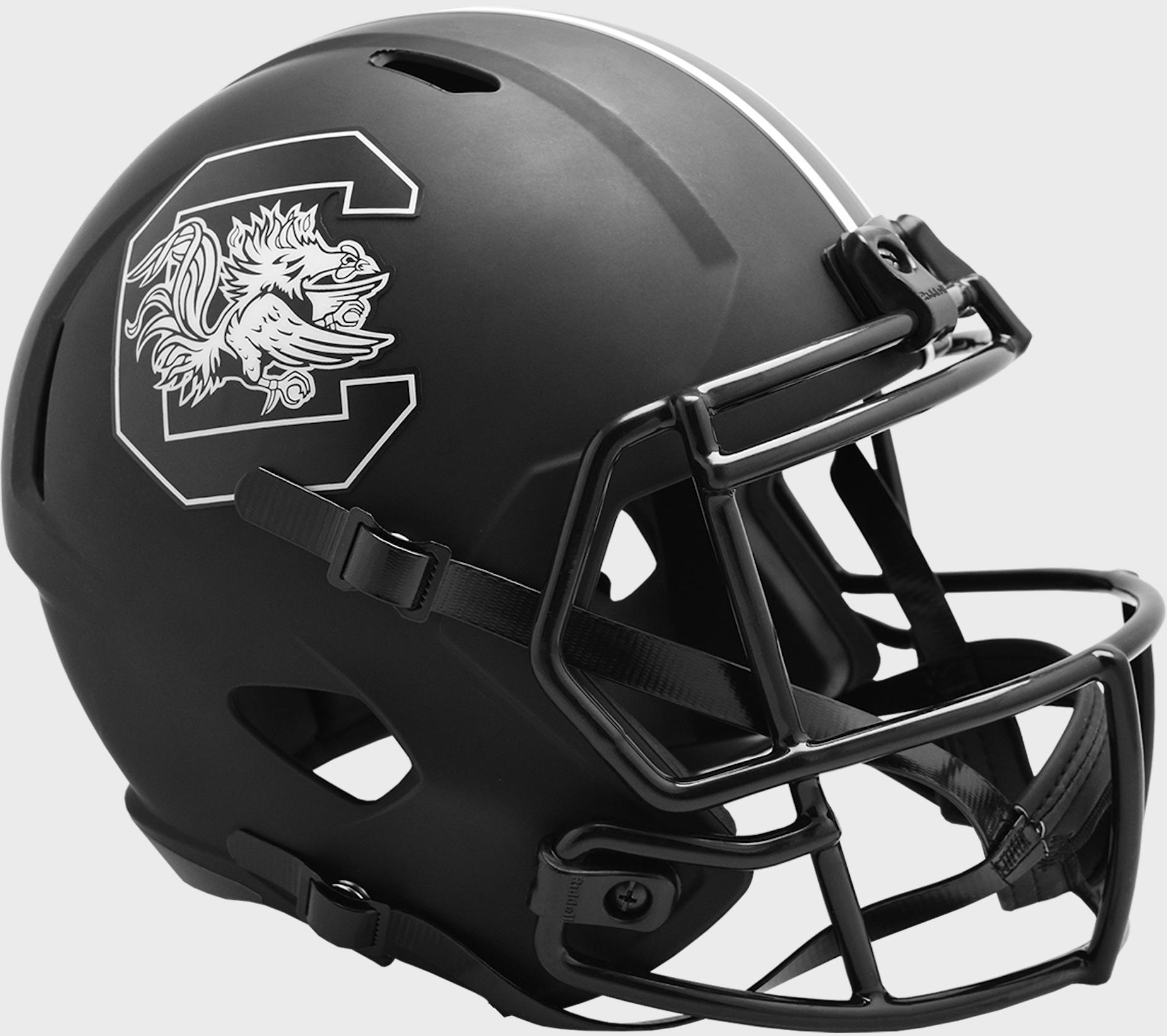 South Carolina Gamecocks Speed Replica Football Helmet <B>ECLIPSE </B>