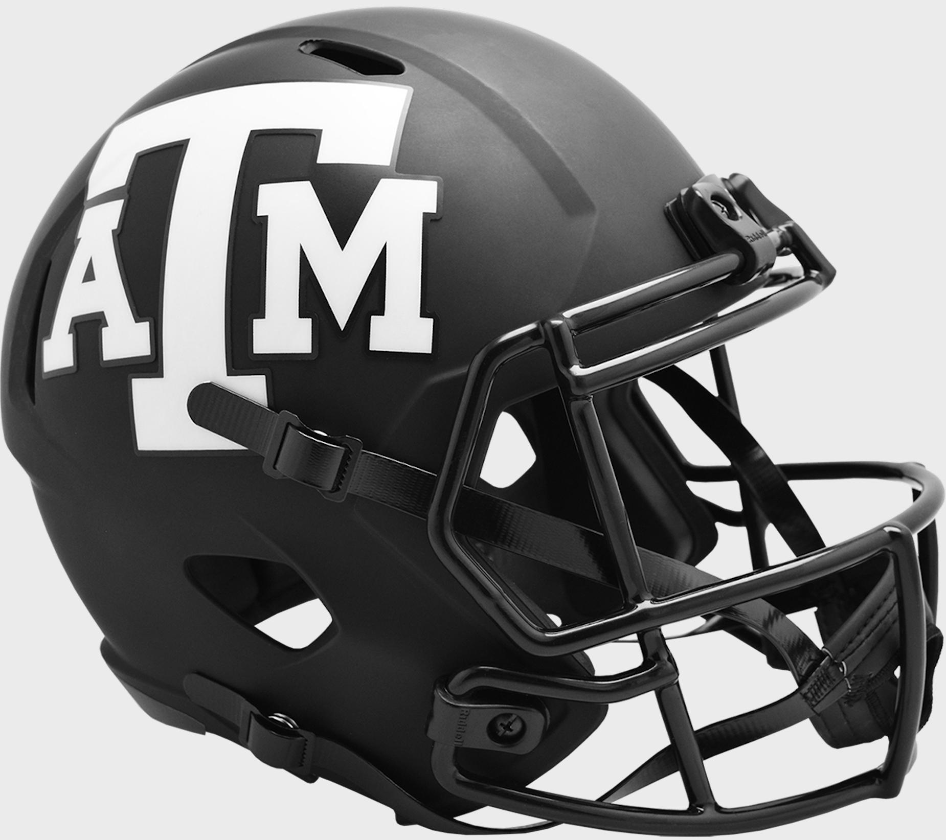 Texas A&M Aggies Speed Replica Football Helmet <B>ECLIPSE </B>