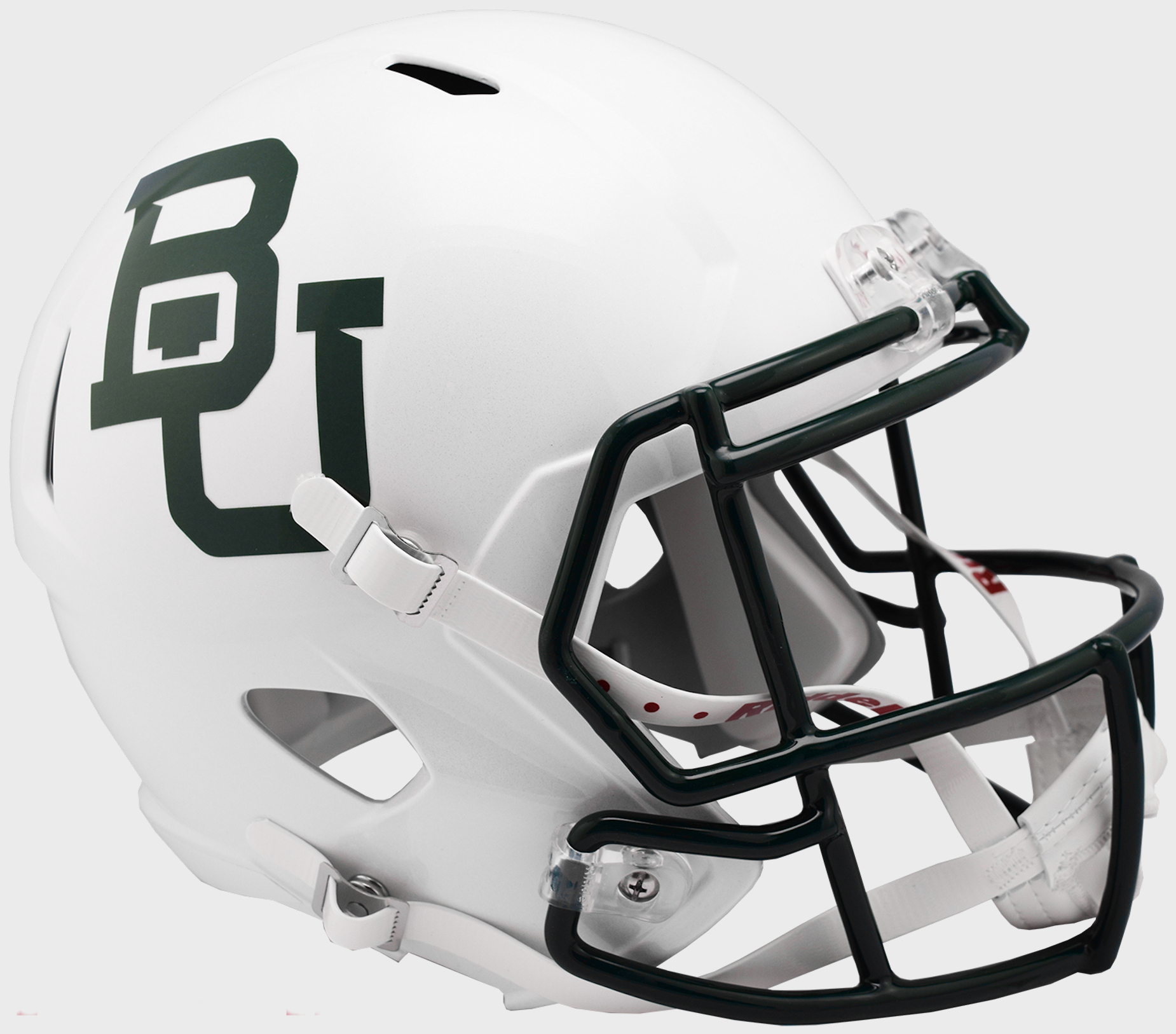 Baylor Bears Speed Replica Football Helmet <B>White Metallic</B>