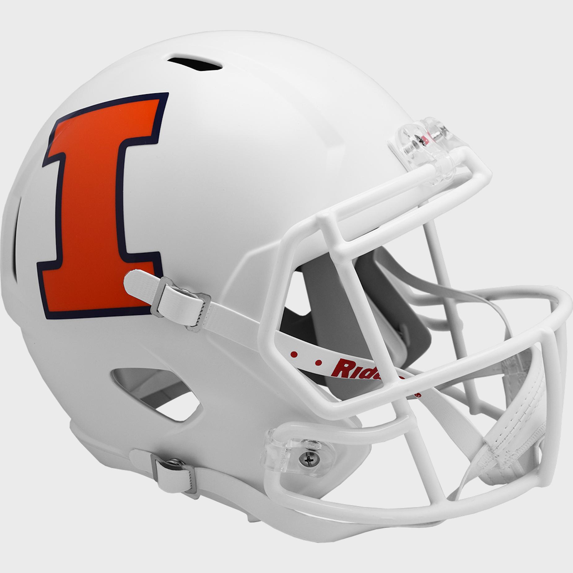 Illinois Fighting Illini Speed Replica Football Helmet