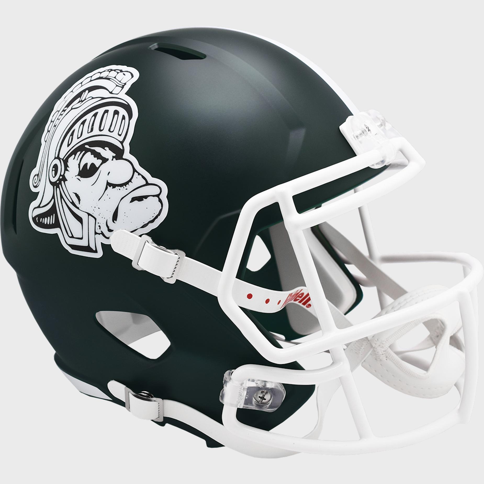 Michigan State Spartans Speed Replica Football Helmet <B>Gruff Sparty</B>