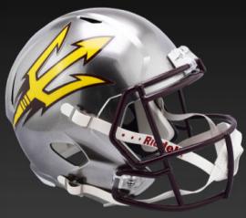 Arizona State Sun Devils Speed Replica Football Helmet <B>FLASH ESD 8/21/21</B>
