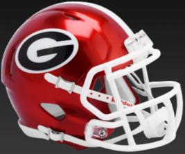 Georgia Bulldogs Speed Replica Football Helmet <B>FLASH ESD 8/21/21</B>