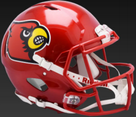 Louisville Cardinals Speed Replica Football Helmet <B>FLASH ESD 8/21/21</B>