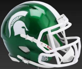 Michigan State Spartans Speed Replica Football Helmet <B>FLASH ESD 8/21/21</B>