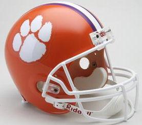Clemson Tigers Full Size Replica Football Helmet