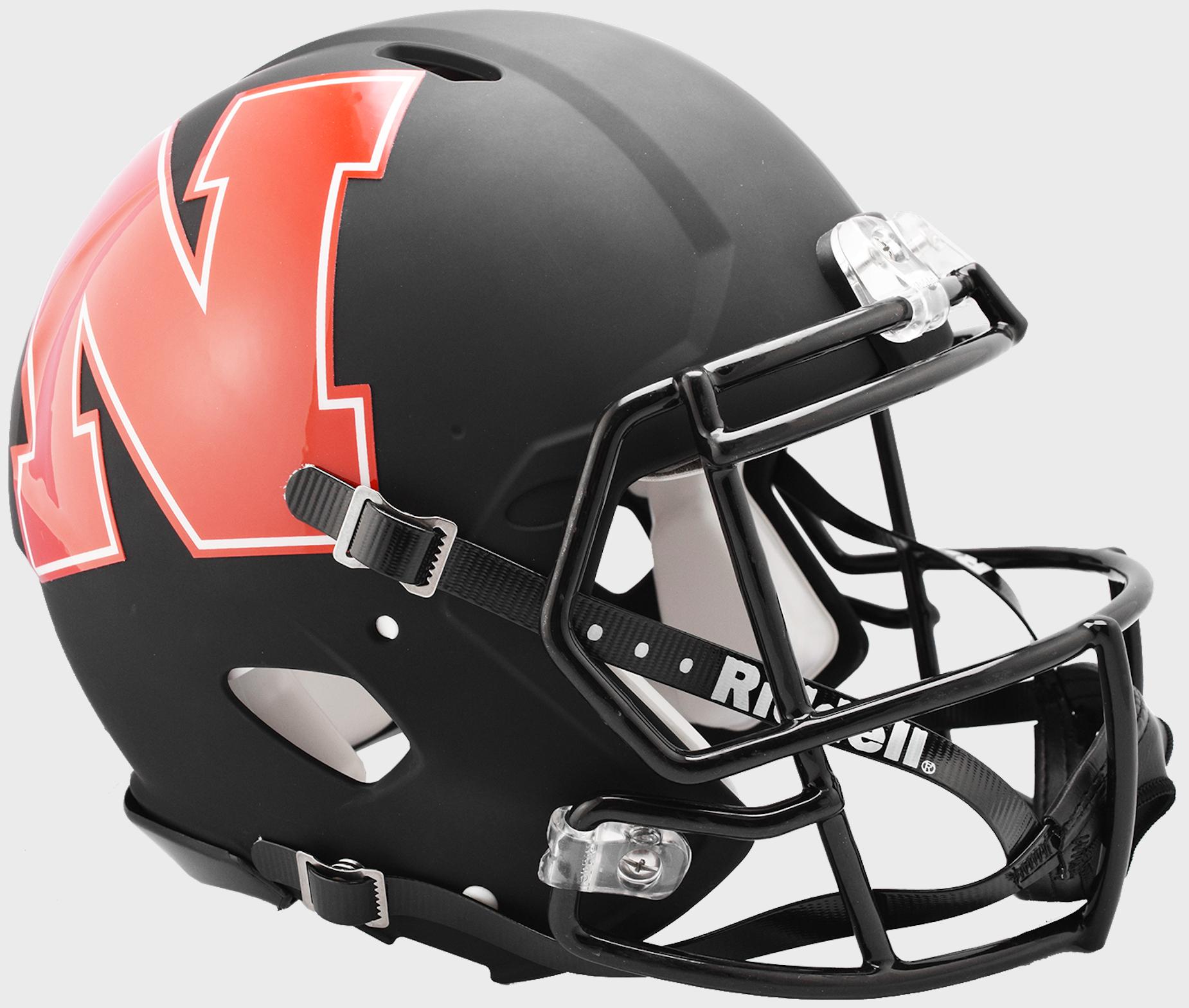 Nebraska Cornhuskers Speed Authentic Helmet <B>AMP</B>