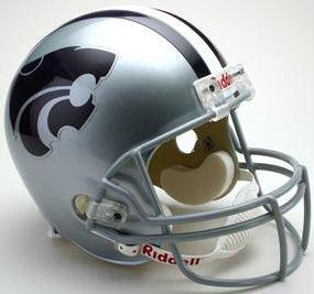 Kansas State Wildcats Full Size Replica Football Helmet