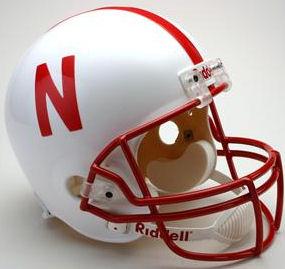 Nebraska Cornhuskers Full Size Replica Football Helmet