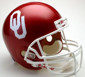 Oklahoma Sooners Full Size Replica Football Helmet