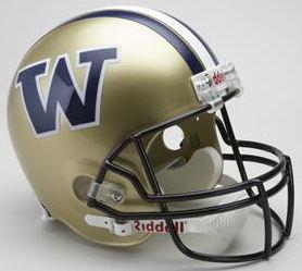 Washington Huskies Full Size Replica Football Helmet