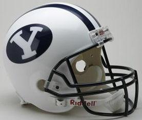 BYU Full Size Replica Football Helmet