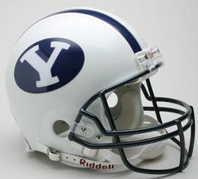 BYU Football Helmet <B>DISCONTINUED</B>