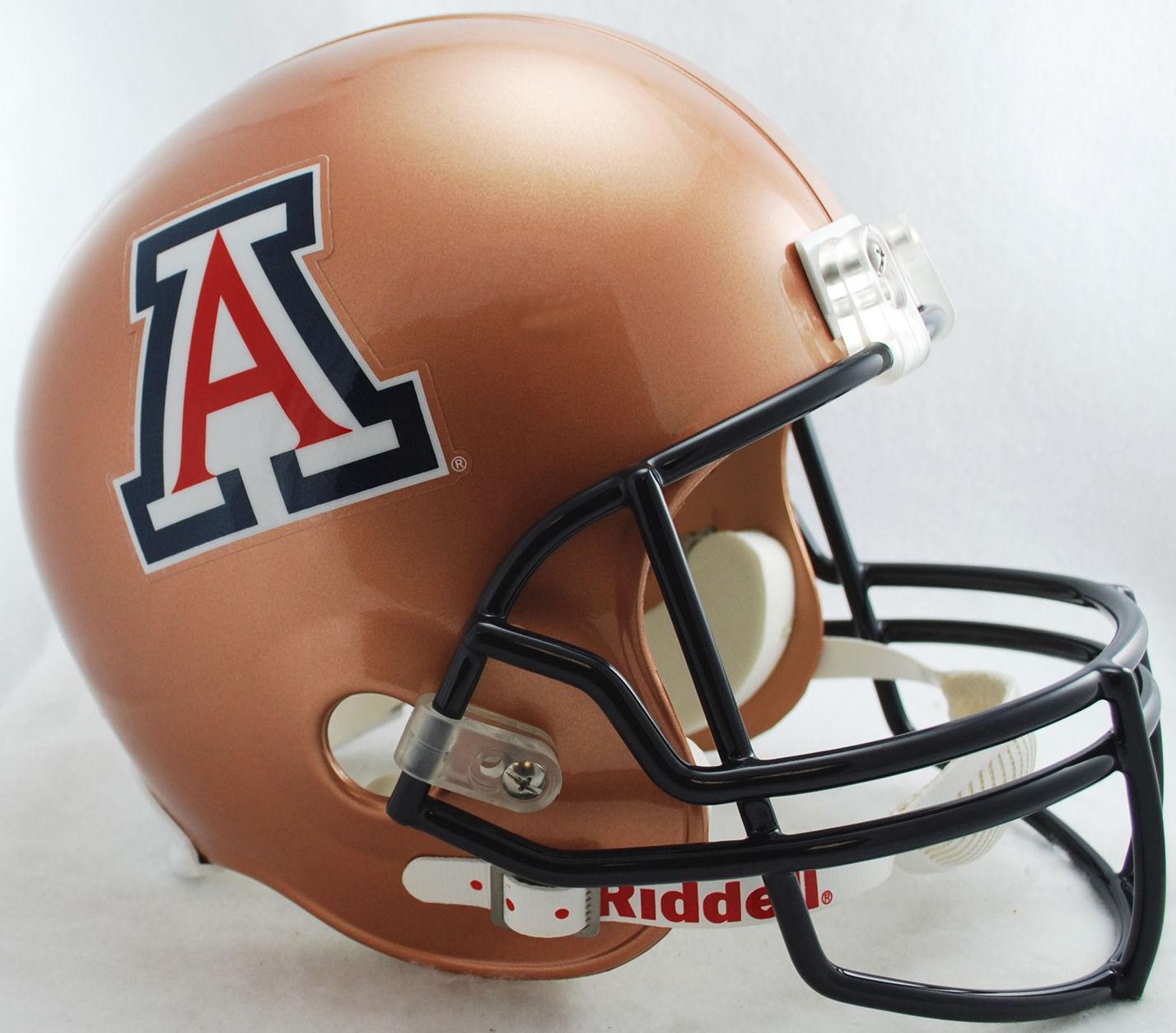 Arizona Wildcats Full Size Replica Football Helmet <B>Copper</B>