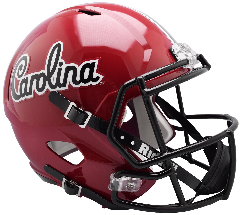South Carolina Gamecocks Speed Replica Football Helmet <B>NEW 2018 Vintage Script</B>