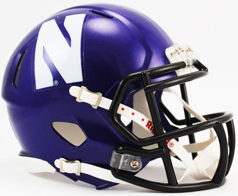 Northwestern Wildcats NCAA Mini Speed Football Helmet