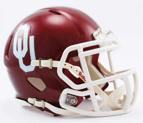 Oklahoma Sooners NCAA Mini Speed Football Helmet