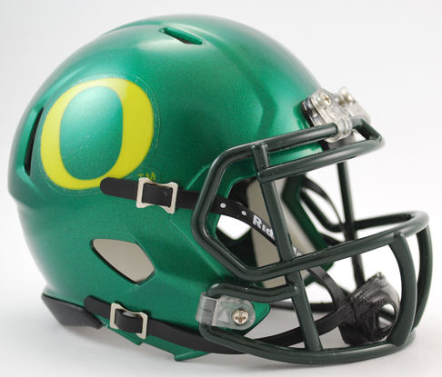 Oregon Ducks NCAA Mini Speed Football Helmet