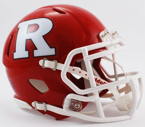 Rutgers Scarlet Knights NCAA Mini Speed Football Helmet