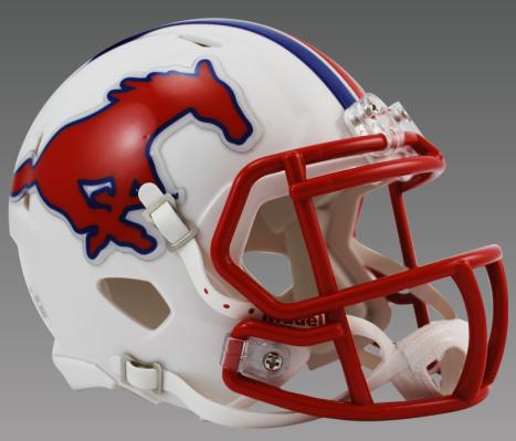 Southern Methodist (SMU) Mustangs NCAA Mini Speed Football Helmet