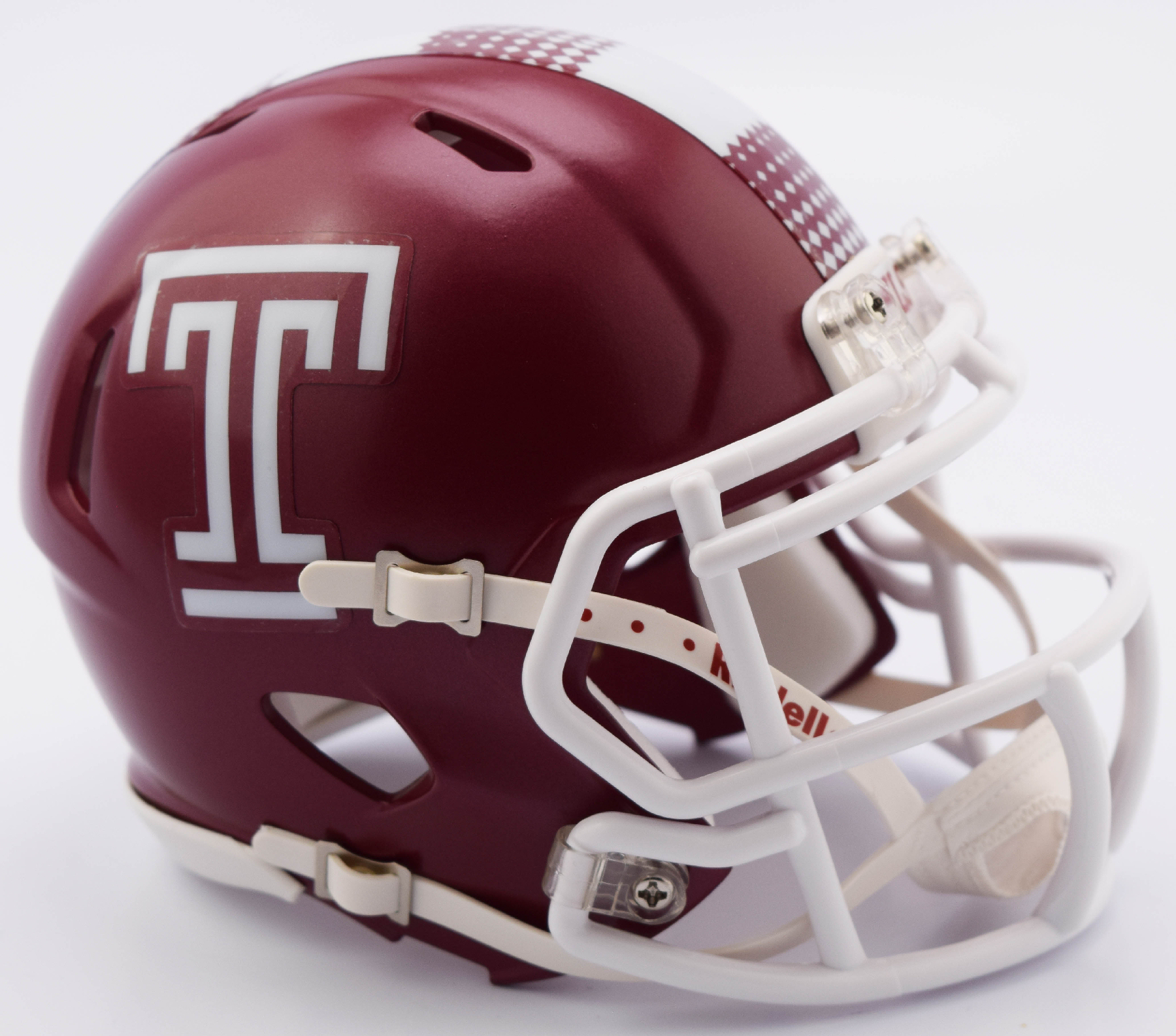 Temple Owls NCAA Mini Speed Football Helmet