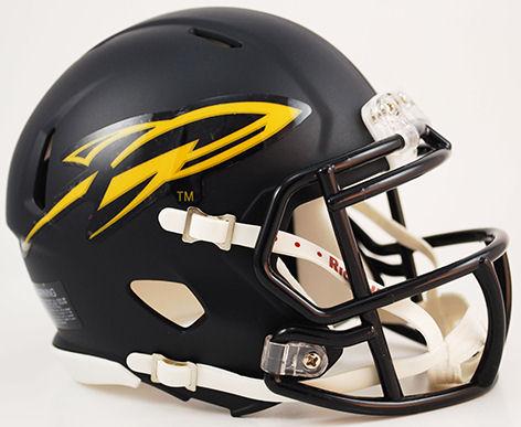 Toledo Rockets NCAA Mini Speed Football Helmet <B>Matte Navy</B>