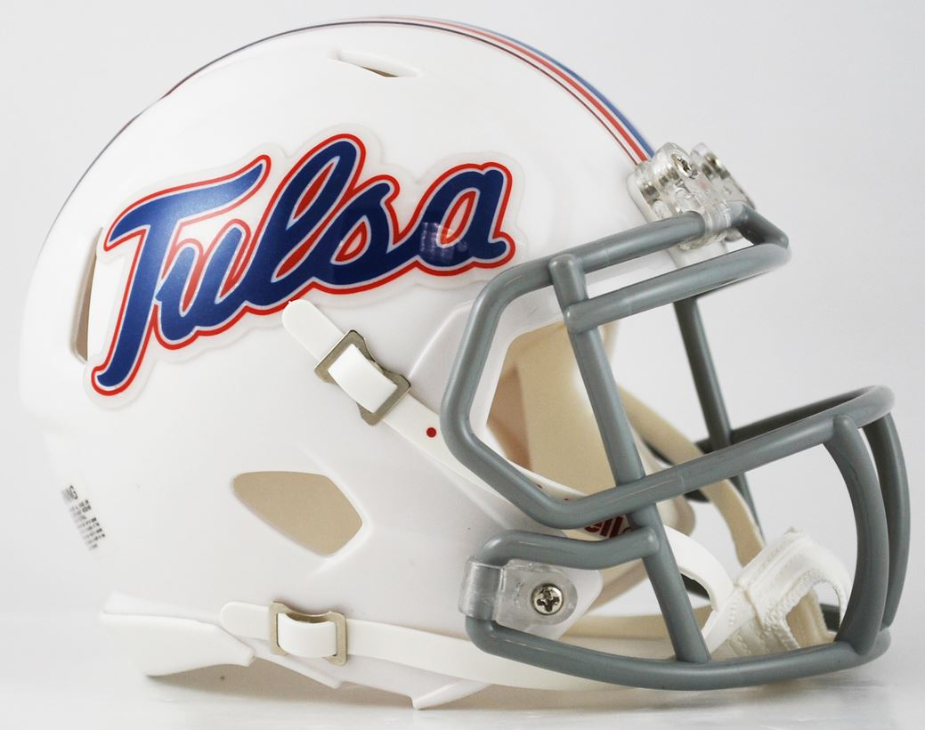 Tulsa Golden Hurricane NCAA Mini Speed Football Helmet