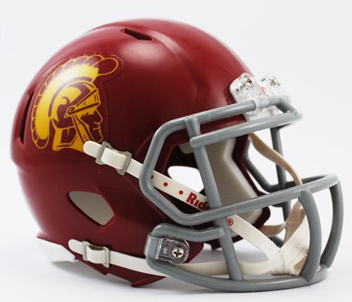 USC Trojans NCAA Mini Speed Football Helmet