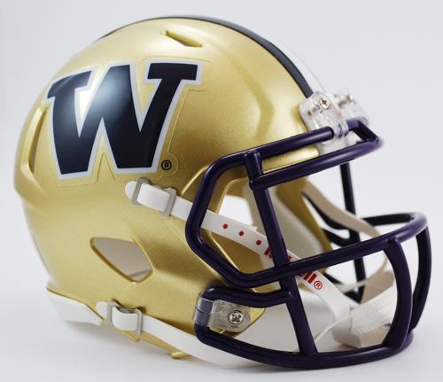 Washington Huskies NCAA Mini Speed Football Helmet