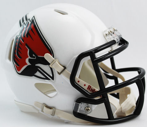 Ball State Cardinals NCAA Mini Speed Football Helmet